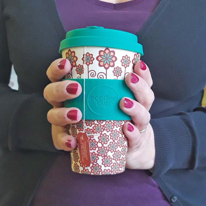 La tazza ecologica in bambù ecoffee cup