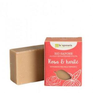 Sapone Rosa e karite (100gr)
