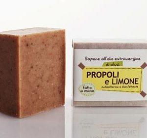 Sapone Propoli e limone (100gr)