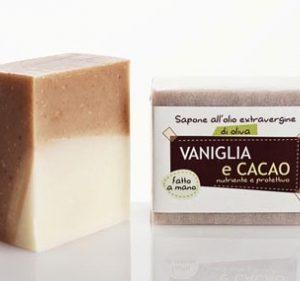 Sapone Vaniglia e cacao (100gr)
