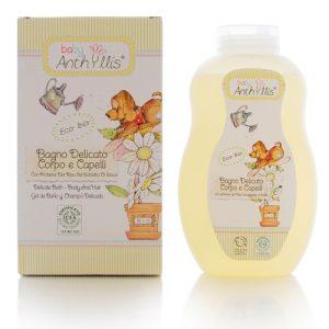 Bagno delicato corpo e capelli BIO Baby Anthyllis (400ml)