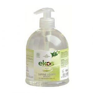 Sapone liquido delicato con dosatore (500ml)