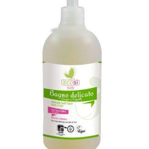 Bagno delicato corpo e capelli con dispenser (500ml)