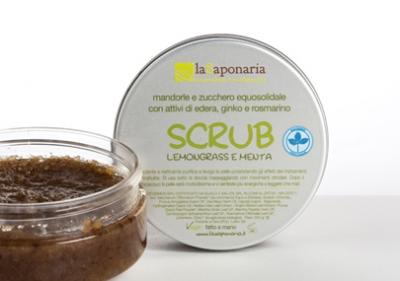 Scrub lemongrass e menta (250gr)