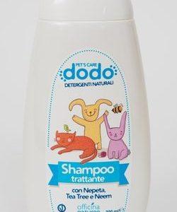 DODO Shampoo trattante con oli essenziali a effetto repellente per gli insetti (300ml)