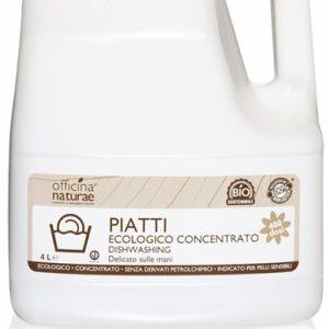 Liquido Piatti Concentrato Tanica in bioplastica (4lt)