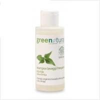 Shampoo lavaggi frequenti biologico lino e ortica MINI (100ml)