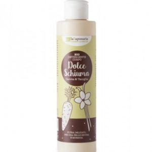 Detergente corpo Vaniglia e Carota - Dolce Schiuma (200ml)