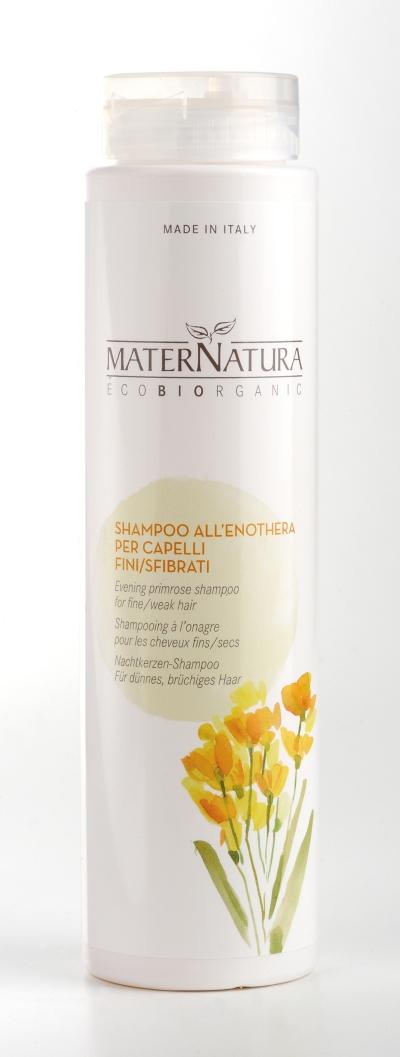Shampoo all'enothera per capelli fini e sfibrati (250ml)