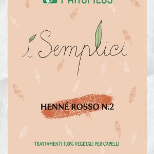 Henné rosso N.2 micronizzato riflesso rame (100gr)