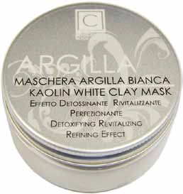 Maschera argilla bianca (100ml)