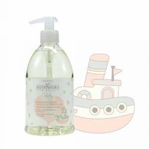 Baby Bagno e shampoo delicato ai fiori di lino (500ml)
