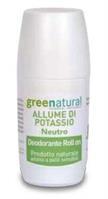 Deodorante ROLL ON allume di potassio Neutro (75ml)
