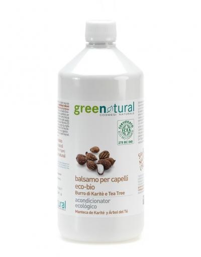 Balsamo per capelli burro di karite e tea tree (1l)