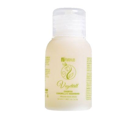 VegetAll Shampoo camomilla e rabarbaro riflesso biondo (50ml)