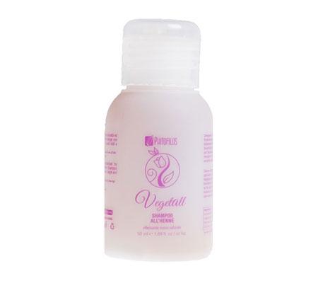 VegetAll Shampoo all'henné riflesso rosso (50ml)