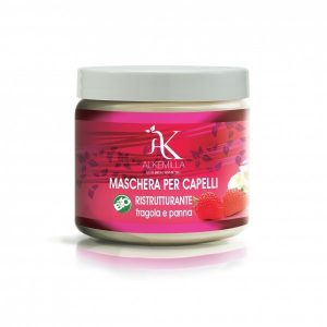 Maschera capelli ristrutturante fragola e panna (200ml)