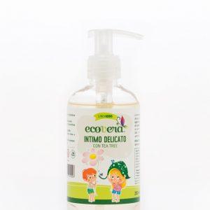 Ecovera kids Detergente intimo delicato al tea tree (250ml)