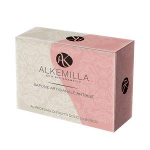 Sapone artigianale antiage al profumo di frutti dolci di bosco (100gr)