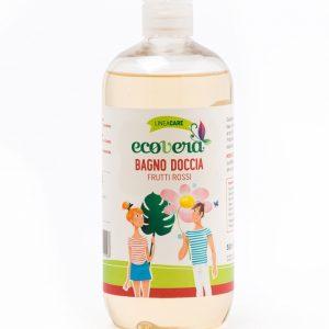 Ecovera care Bagno Doccia ai Frutti Rossi (500ml)