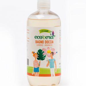 Ecovera care Bagno Doccia Limone e Arancio  (500ml)