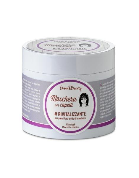 Maschera per capelli Rivitalizzante con passiflora e olio di mandorla (200ml)