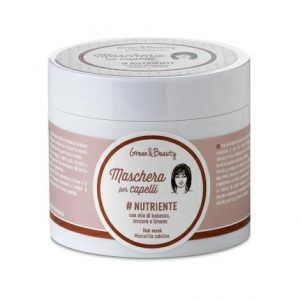 Maschera per capelli Nutriente con olio di babassu, zenzero e limone (200ml)