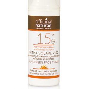 Crema Solare Viso SPF 15 Protezione Media (50ml)