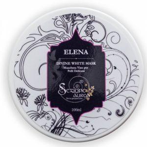 Maschera viso Divine White Mask Elena (100ml)