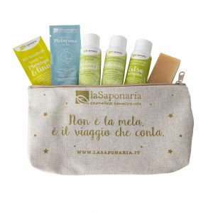Pochette Itaca - travel set ecobio