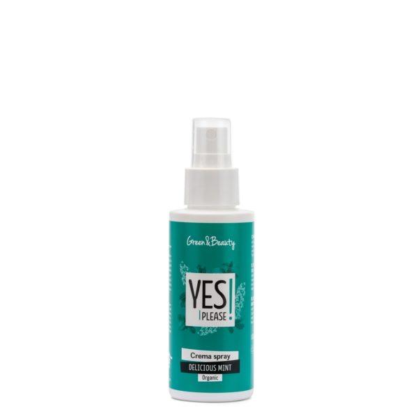 Crema spray rinfrescante Delicious Mint (100 ml)