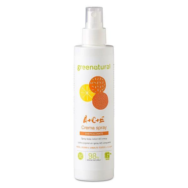 Crema corpo spray Multivitamine ACE (200ml)