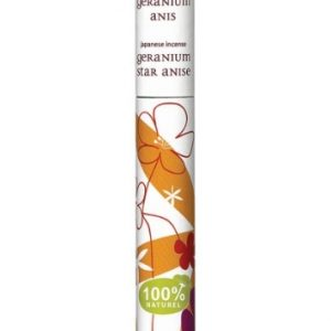 Incenso geranio e anice (30 stick)
