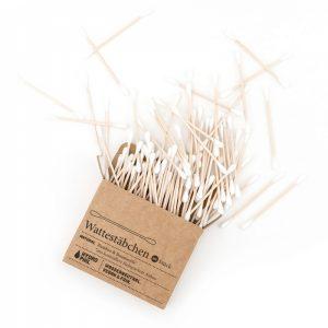 Bastoncini cotonati in cotone e bamboo (100pz)
