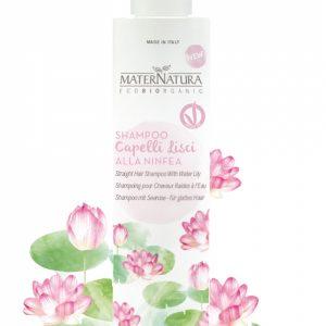 Shampoo capelli lisci alla ninfea (250ml)