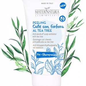 Peeling cute con forfora alla bardana al Tea Tree (150ml)