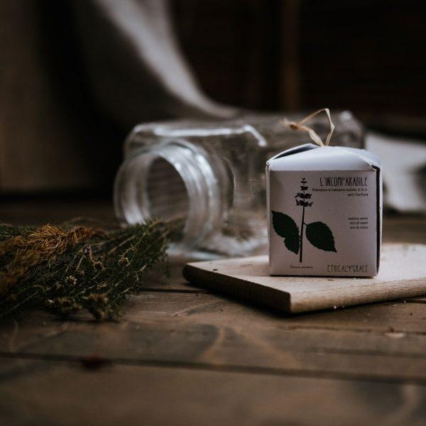 Shampoo e balsamo solido 2 in 1 anti-forfora anti-prurito - Incomparabile