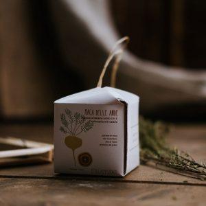 Shampoo e balsamo solido 2 in 1 rinforzante anti-caduta -  Maca delle Ande