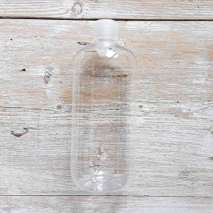 Flacone vuoto con tappo (500ml)