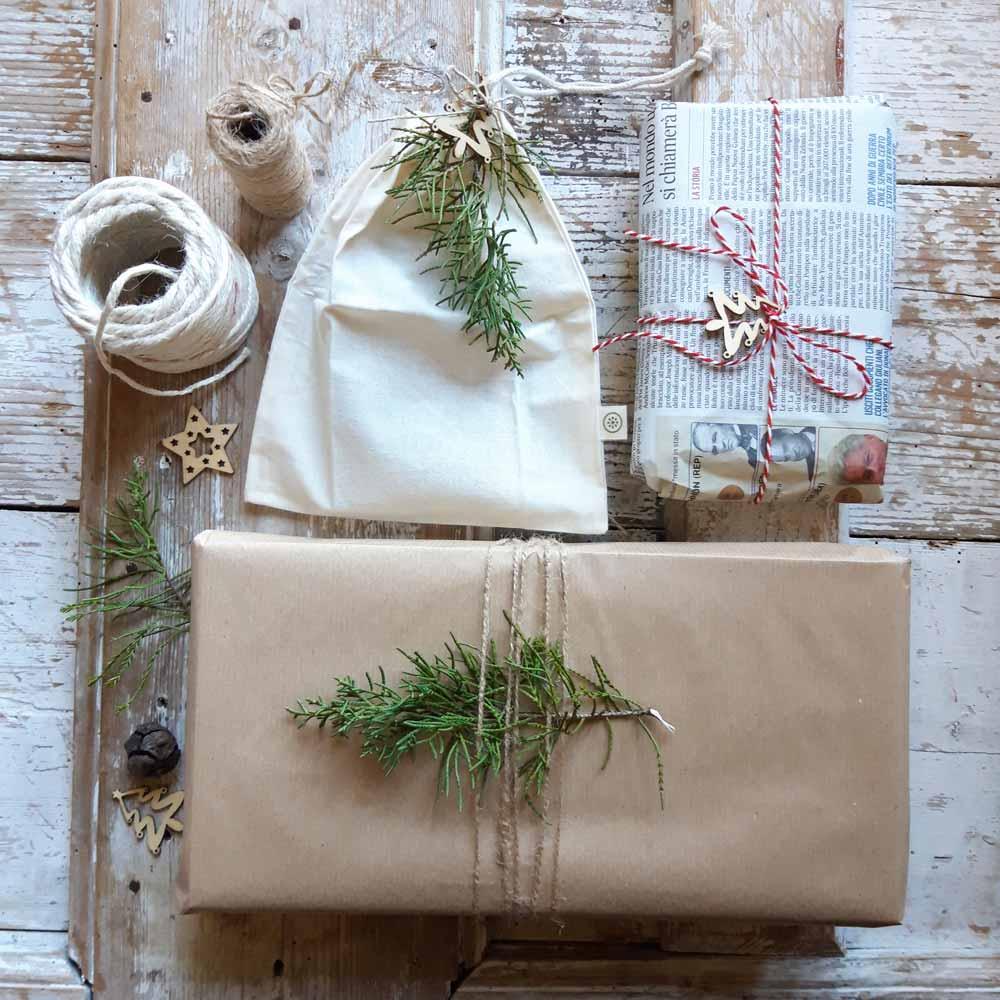 confezioni regalo ecologiche e zero waste